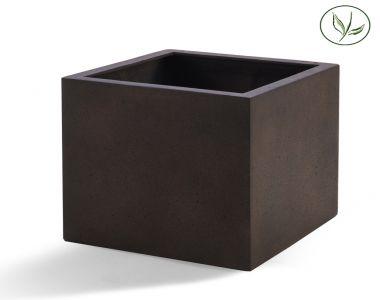 Paris Cube 80 - Rostfarbe (80x80x80)