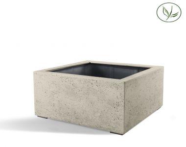 Paris Low Cube 80 - altes Weiss (80x80x60)