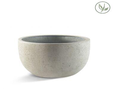 Paris New Egg Pot Low 110 - altes Weiss (110x65)