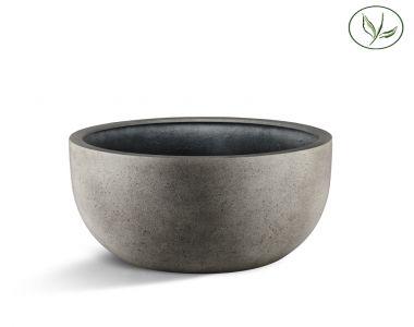 Paris New Egg Pot Low 110 - Betongrau (110x65)