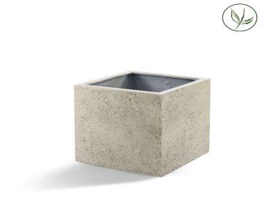 Paris Cube 80 - altes Weiss (80x80x80)