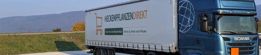 Versand und Logistik Heckenpflanzen